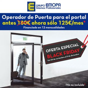 BLACK FRIDAY OPERADOR